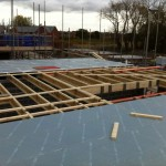 floor joist and boards