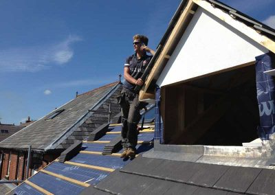 ROOFING: Flat roofing, truss rafter roofing, traditional roofing